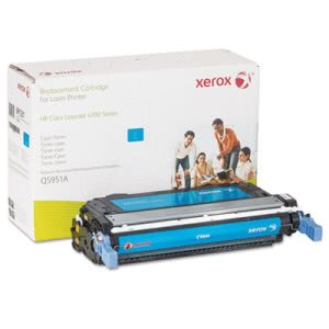 Xerox 6R1331 Compatible Remanufactured Toner, 10000 Page-Yield, Cyan (XER6R1331)