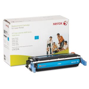 Xerox 6R942 Compatible Remanufactured Toner, 8000 Page-Yield, Cyan (XER6R942)