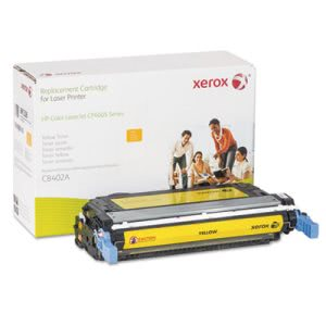 Xerox Compatible Remanufactured Toner, 7500 Page-Yield, Yellow, Each (XER6R1328)