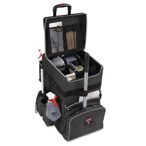 Rubbermaid Executive Quick Cart, Large, Dark Gray (RCP1902465)