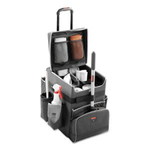 Rubbermaid 1902467 Executive Quick Cart, Small, Dark Gray (RCP1902467)