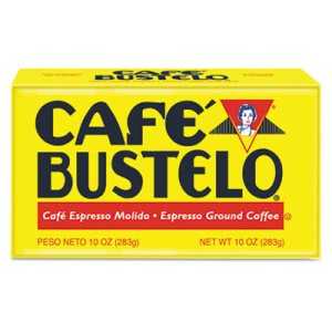 Cafe Bustelo Coffee, Espresso, 10 oz Brick Pack, 24/Carton (FOL01720CT)