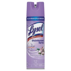 Lysol Disinfectant Spray, Early Morning Breeze, 12 Cans (REC 80834)
