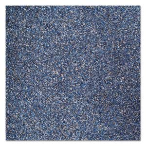 Crown Rely-On Olefin Indoor Wiper Mat, 36 x 48, Blue/Black (CWNGS0034MB)