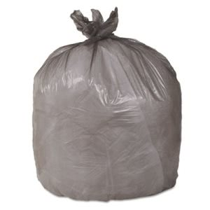 33 Gallon Brown Trash Bags, 33x40, 17mic, 250 Bags (ESXEPH37BRN)