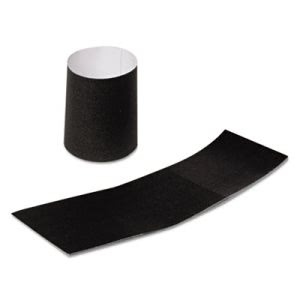 "Royal Paper Napkin Bands, Paper, Black, 1 1/2"", 2000/Carton (RPPRNB4MBK)"