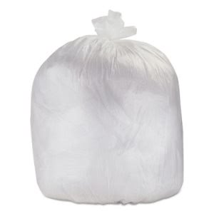 56 Gallon Clear Trash Bags, 43x48, 17mic, 200 Bags (ESXHDX45CLR)