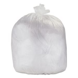 33 Gallon Clear Trash Bags, 33x40, 500 Bags (ESXHDH40CLR)