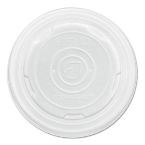 Eco-products Food Container Lids, Fits 8-oz sizes, 1000 Lids (ECOEPECOLIDSPS)
