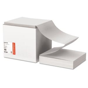 Universal Computer Paper, 9-1/2 x 11, Perforations, 2700 Sheets (UNV15801)