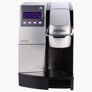 "Keurig K3000SE Commercial Brewer, 12""w x 18""d x 17 2/5"", Silver/Black (GMT23000)"