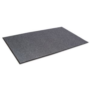 Crown Needle Rib Wipe & Scrape Mat, Polypropylene, 48 x 72, Gray (CWNNR0046GY)