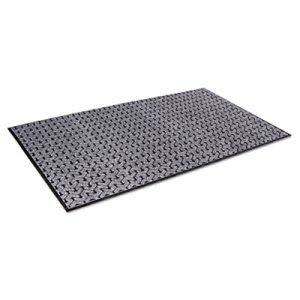 Crown Scraper Mat, Needlepunch Polypropylene/Vinyl, 48 x 72, Gray (CWNTE0046GY)