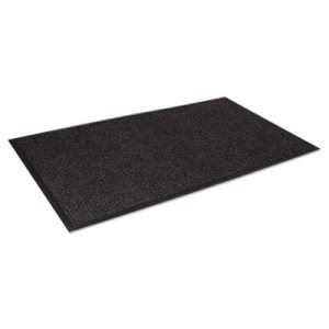 Crown Super-Soaker Wiper Mat w/Gripper Bottom, 34 x 119, Charcoal (CWNSSR310CH)