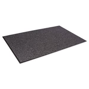 Crown Oxford Wiper Mat, 36 x 60, Black/Gray, Each  (CWNOXH035GY)