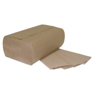 GEN Brown Multi-Fold Paper Towels, 1-Ply, 4,000 Towels (GEN1941)