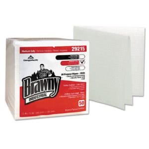 Brawny Industrial All Purpose Wipes, White, 800 Wipes (GPC 292-15)
