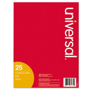 Universal Inkjet Printer Labels, 2 x 4, White, 250/Pack (UNV80205)