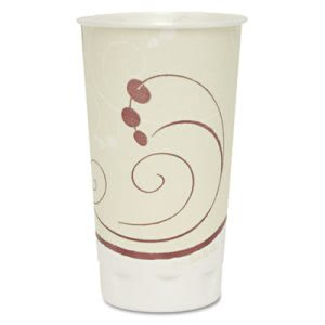 Solo Cup Plus Dual Temp Cups, 20 oz, Jazz Design, 750 per Carton (SCCX20NJ)