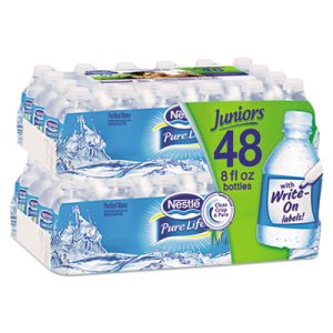 Nestle Pure Life Juniors 8 oz Water Bottles, 2880 Bottles, Pallet (NLE12256656P)