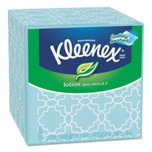 Kleenex Boutique Lotion Facial Tissue, 2-Ply, 27 Boxes (KCC 25829)