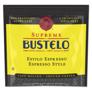 Cafe Bustelo Coffee, Espresso, 7 g Coffee Pod (FOL11248)