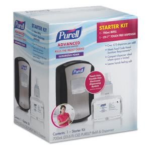 Purell LTX-7 Touch Free 700 mL Hand Sanitizer Dispenser Kit (GOJ1305D4)