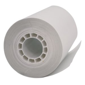 PM Company Single-Ply Thermal Cash Register/POS Rolls, White, 5 Rolls (PMC05262)