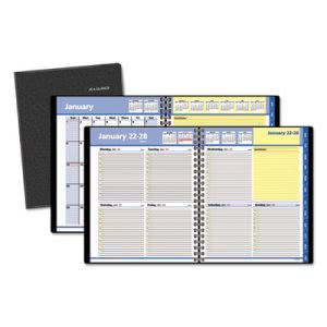 At-a-glance QuickNotes Recycled Weekly/Monthly Appointment Book, 8 x 9-7/8, Black, 2016 (AAG760505)