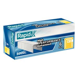 "Rapid Fine Wire Staples, 1/4"" Leg, 5,000 Staples (RPD11830700)"