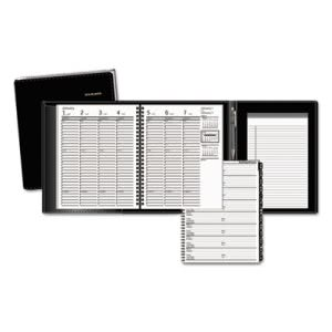 At-a-glance Weekly Appointment Book Plus, 6-7/8 x 8-3/4, Black, 2016-2017 (AAG70865P05)