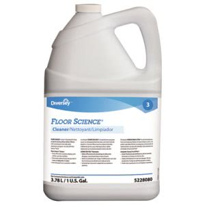 Floor Science Cleaner, 1 Gallon Bottle, 4/Carton (DVO95228080CT)