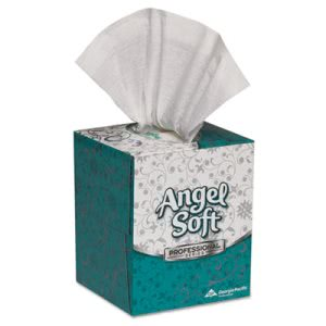 Angel Soft Premium Facial Tissue, 36 Cube Boxes (GPC46580CT)