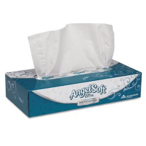 Angel Soft Ps Ultra Premium Facial Tissue, 30 Flat Boxes (GPC48560)