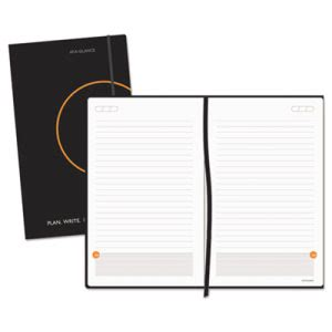 "At-a-glance ""Perfect Bound Planning Notebook, Black (AAG80612405)"