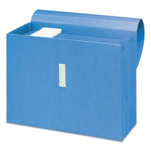 Smead Antimicrobial Accordion Expanding File, 12 Pocket, Letter, Blue (SMD70728)