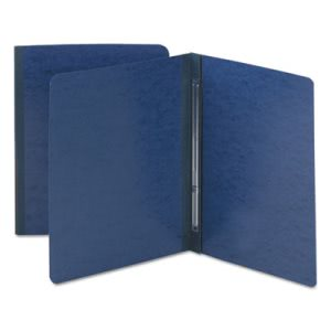 Smead Side Opening Pressboard Report Cover, Letter, Dark Blue (SMD81351)
