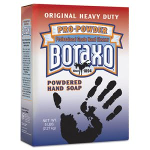 Boraxo Powdered Original Hand Soap, Unscented, 5lb Box, Each (DIA02203)