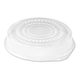 16in Clear Dome Lids for Round Serving Trays, 25 Lids (HFA2012DL)