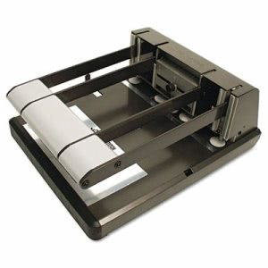 Stanley Heavy Duty Hole Punch, Antimicrobial, 160-Sheet Capacity (BOS03200)
