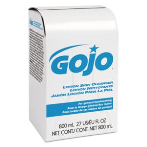 Gojo Lotion Skin Cleanser Refill, Floral, Liquid, 800mL Bag, Each (GOJ911212EA)
