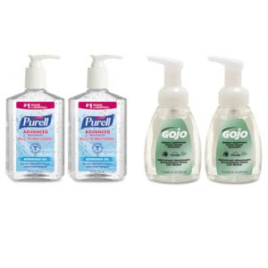 Purell Hand Sanitizer and Hand Soap Kit, 4 Kits (GOJ9652SSECCT)