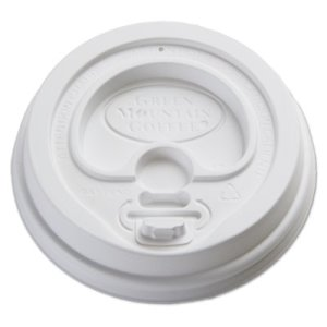 Green Mountain Domed Lids for Eco-Friendly Hot Cups, 1200 Lids (GMT93783)