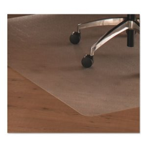 Floortex Cleartex Ultimat Polycarbonate Chair Mat for Hard Floors, 35 x 47, Clear (FLREC128919ER)