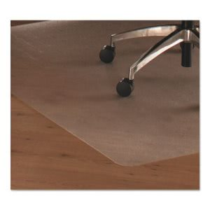 Floortex Cleartex Ultimat Polycarbonate Chair Mat for Hard Floors, 48 x 60, Clear (FLRER1215219)