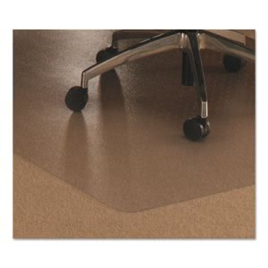 Floortex Cleartex Ultimat Polycarbonate Chair Mat for Low/Medium Pile Carpet, 48 x 79 (FLRER1120023ER)