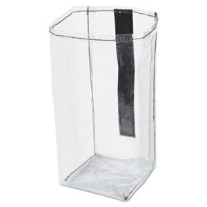 Rubbermaid 1919270 Executive Quick Cart Plastic Pocket Liner, Clear (RCP1919270)