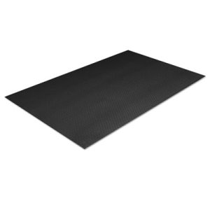 Crown Tuff-Spun Anti-Fatigue Pebble Mat, 36 x 144, Black, Each (CWNFP3612BK)