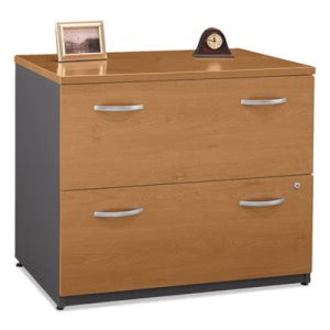 "Bush 36""W 2-Drawer Lateral File (Assembled) Series C Cherry (BSHWC72454ASU)"