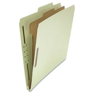 Universal Pressboard Folder, Letter, 4 Section, Gray 10 per Box (UNV10253)